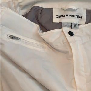Obermeyer Pants - Women's Obermeyer Ski Pants w/ stretch panels